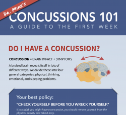 A preview of Concussions 101, a guide